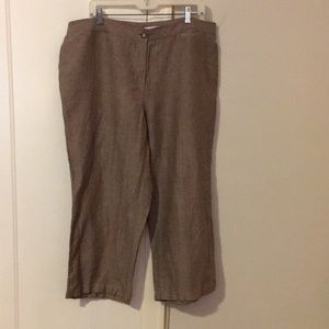 Wide legged casual pants
